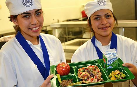 ganadoras cocinando el cambio